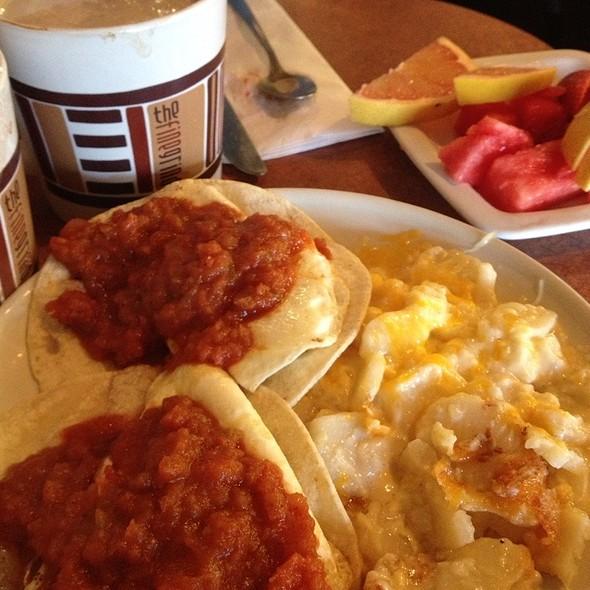 Huevos rancheros @ Fine Grind A Coffee Bar