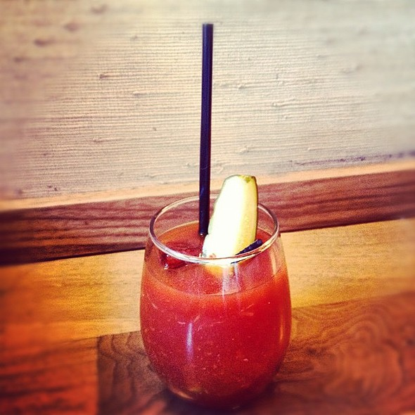 The seductive bourbon bloody @CharNo4 @ Char No. 4