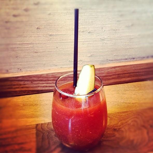 The seductive bourbon bloody @CharNo4 @ Char No. 4