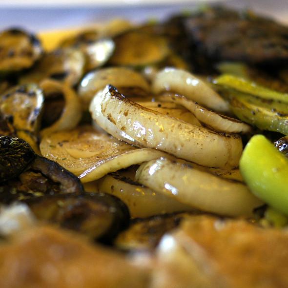 Grilled Vegetables @ Bar Keshtjella Restorant