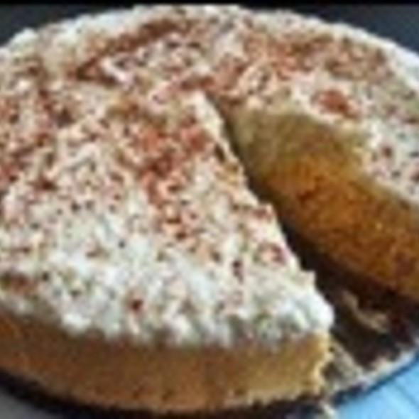 Home-Made Pumkin Cheesecake  @ My Home