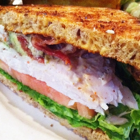 Cali Turkey Sandwich @ Sabrina's Cafe