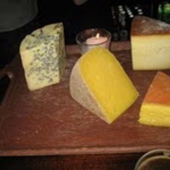Assortment of Cheese @ Against The Grain