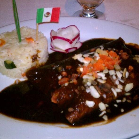 enchiladas de pato @ El Agave