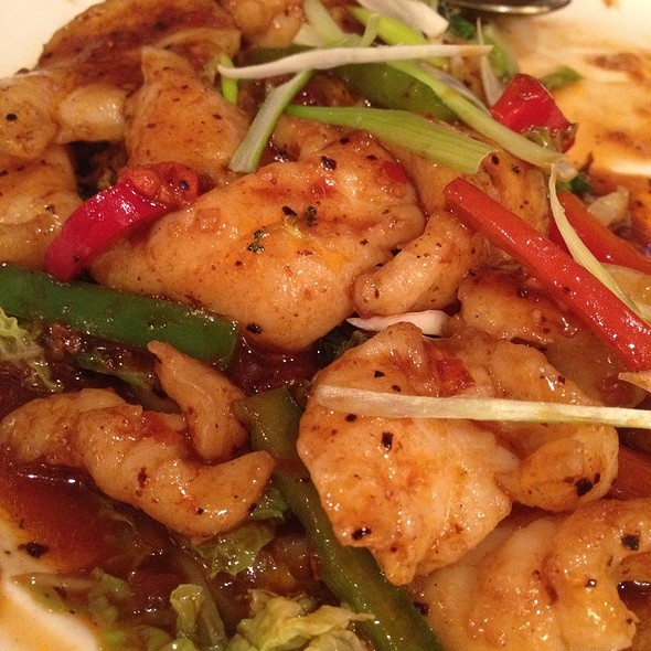Spicy Malaysian Squid @ Emporer's Palace