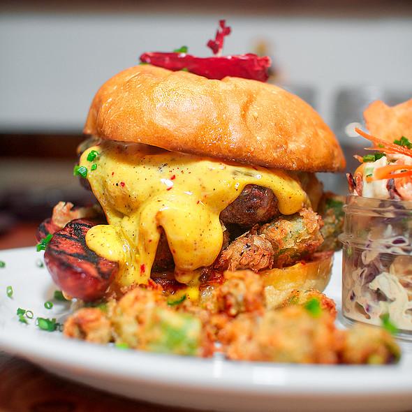 Cheeseburger - The Porch Restaurant & Bar - Sacramento, Sacramento, CA