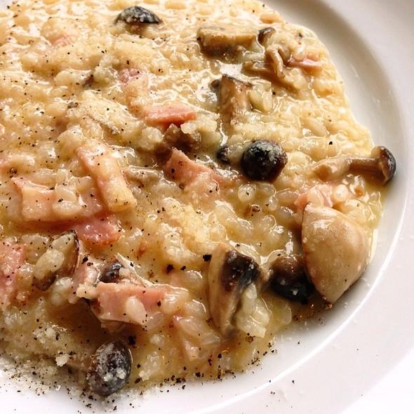 Bacon and Mushroom Risotto @ トラットリア タンタボッカ