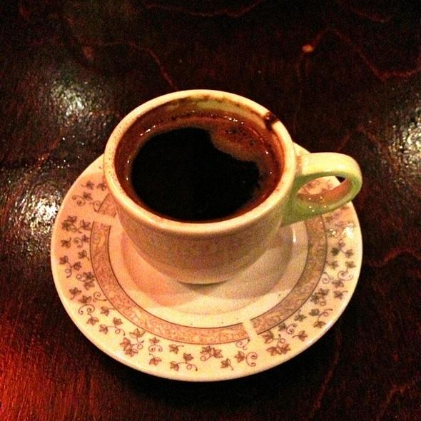 Turkish Coffee - Talulla's, Chapel Hill, NC