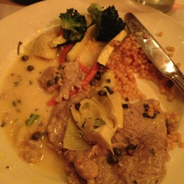 Veal Scallopini With Capers And Artichokes - Arrivederci Ristorante, Scottsdale, AZ
