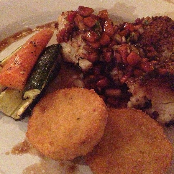 Braised Grouper Fillet @ Blue Water Grill