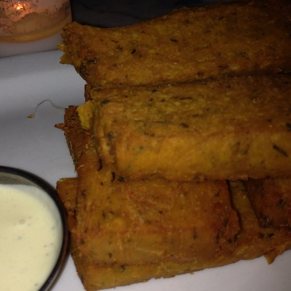 Chickpea Fries w/ Dipping Sauce @ Peacefood Cafe Inc