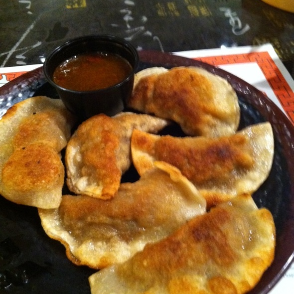 Pan Fried Potstickers @ Lins Asian Fusion