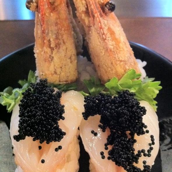 Amaebi @ Sushi Mojo