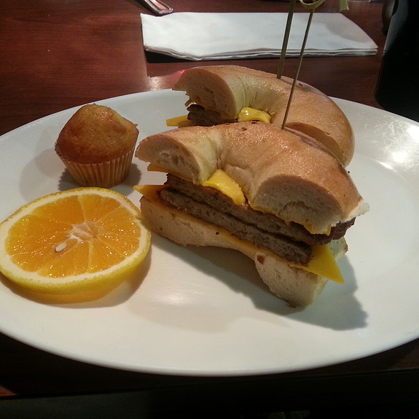 Bagel Sandwich @ Strathmore Bagels
