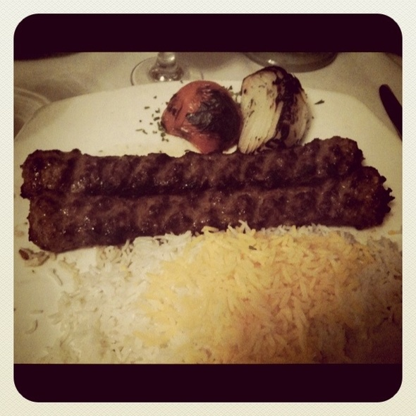 Beef Koobideh @ Ravagh Restaurant
