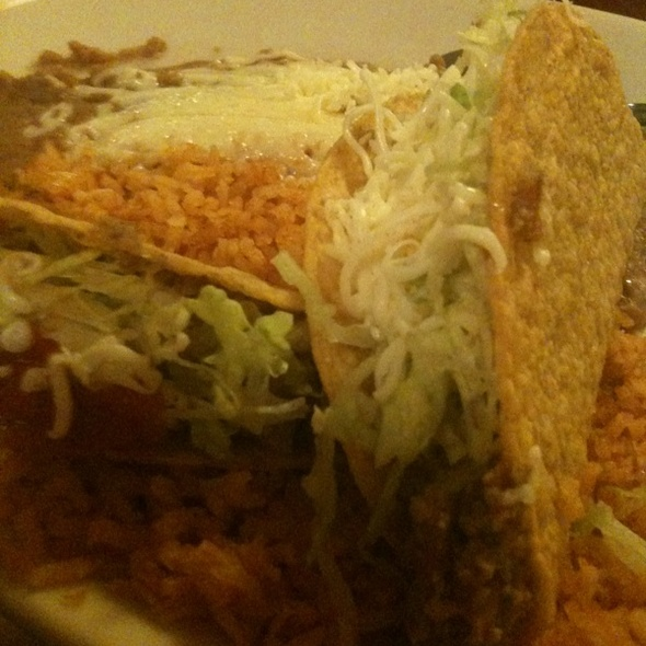 Tacos @ Cha-Cha's Mexican Restaurant