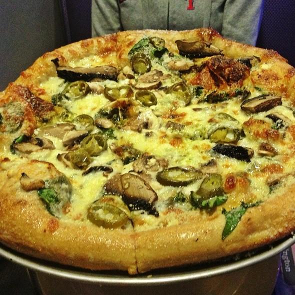 Magical Mystery Tour Pizza @ Mellow Mushroom Arlington, Tx