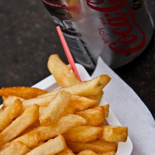 belgic fries @ Bruges, Belgium