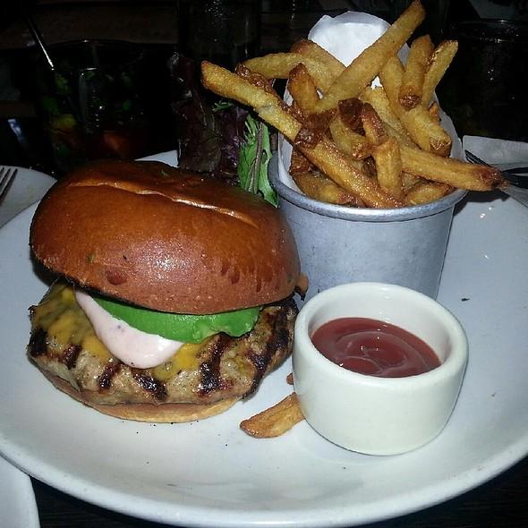 Grilled Turkey Burger @ Cafeteria