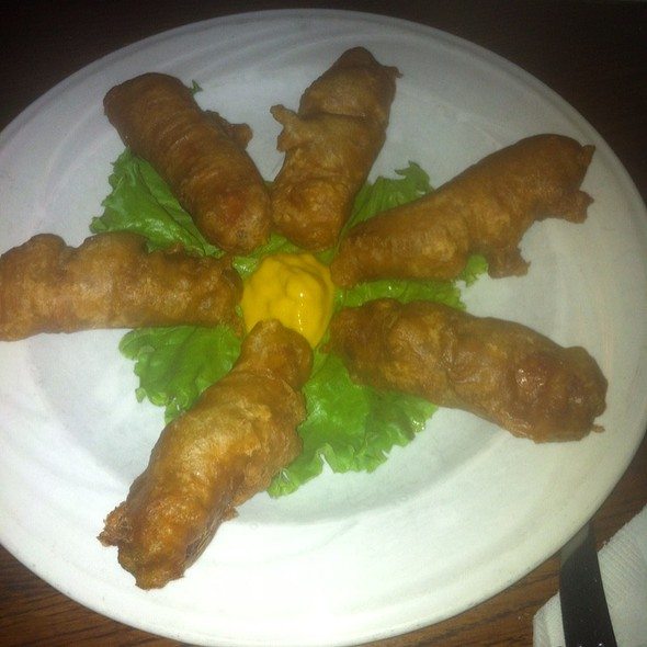 Guinness Battered Sausages @ Maggie Miley's