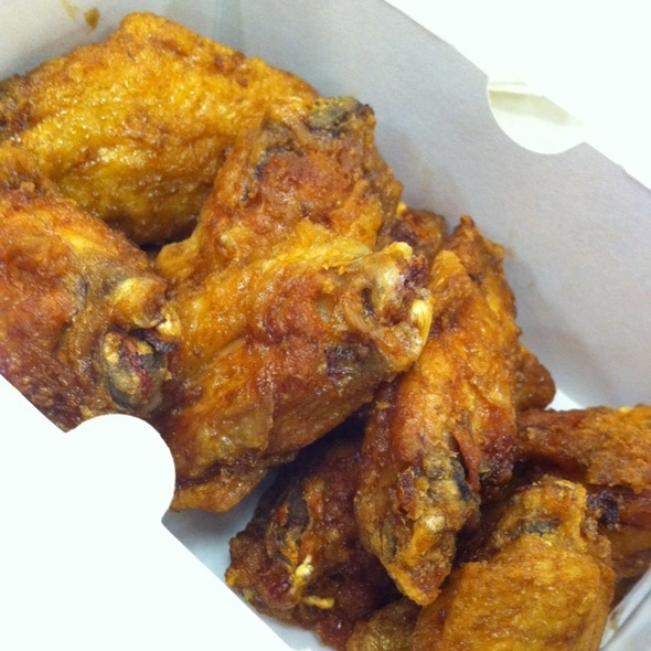 Korean Fried Chicken Wings @ Kyochon Chicken