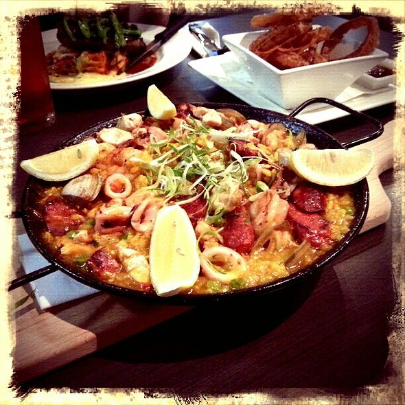Paella for 2 @ Springs Tavern