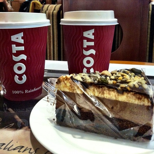 Chocolate Nougat Cake @ Costa Coffee