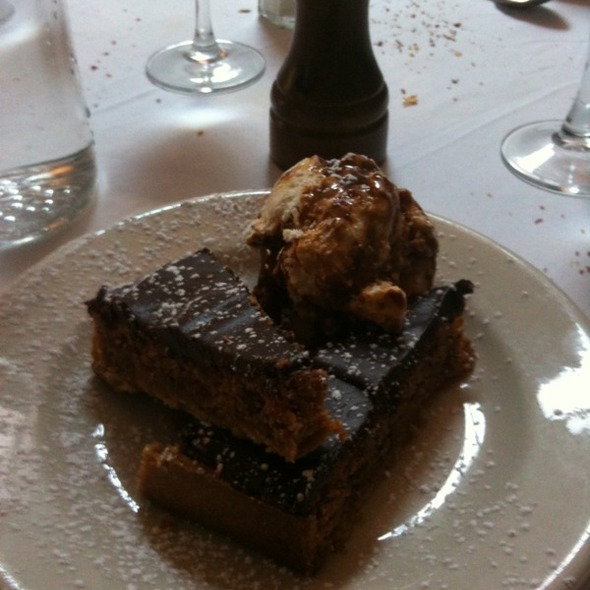 chocolate hazelnut tart - Bottino, New York, NY