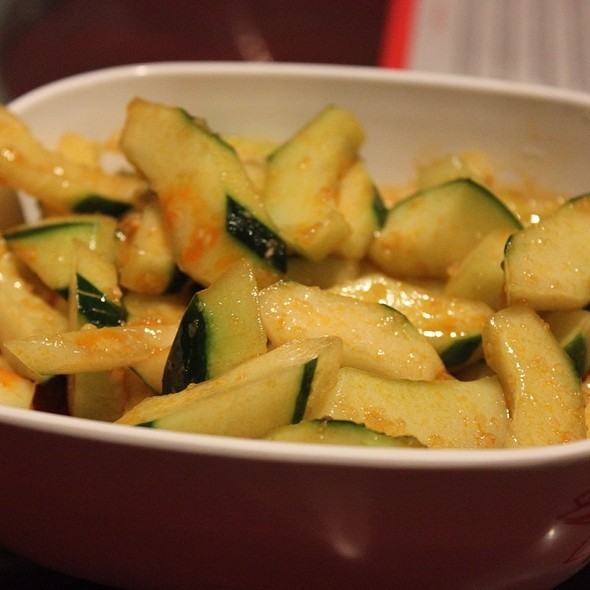 Crispy Cucumber In Chili Oil @ Han Dynasty Of Philadelphia