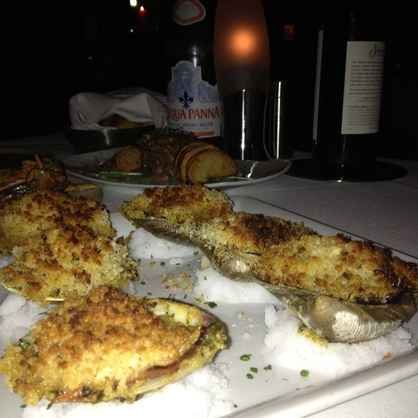Baked Clams Casino - Red, the Steakhouse - Miami Beach, Miami Beach, FL