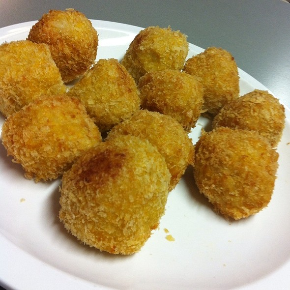 Pumpkin Arancini @ Chookys Work