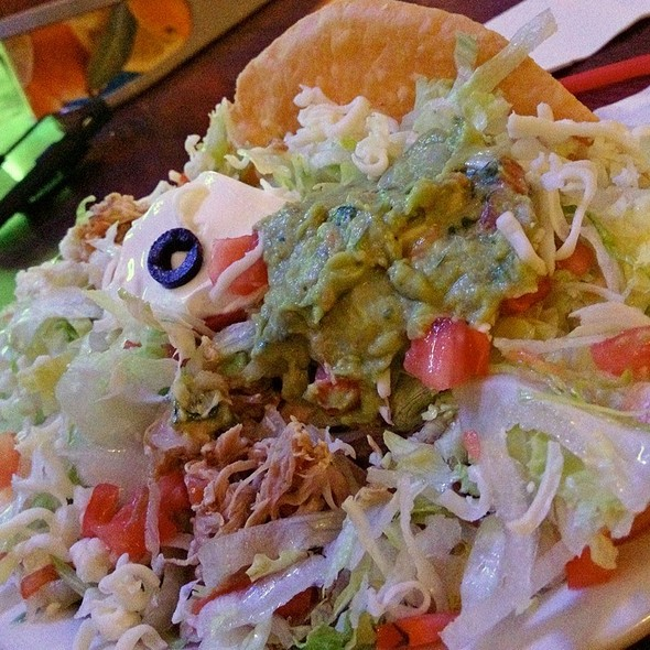 Chicken Taco Salad @ Rudys Mexican Food