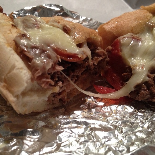 Meat Lovers Steak Sub @ Buxton House of Pizza