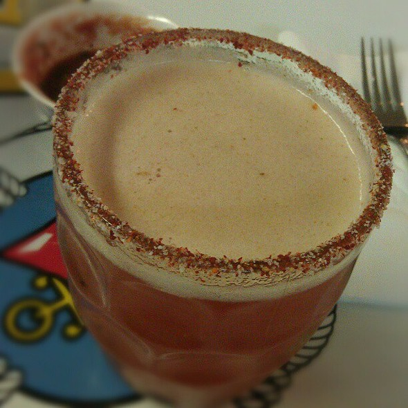 Michelada @ Seafood Zone Mexican Restaurant