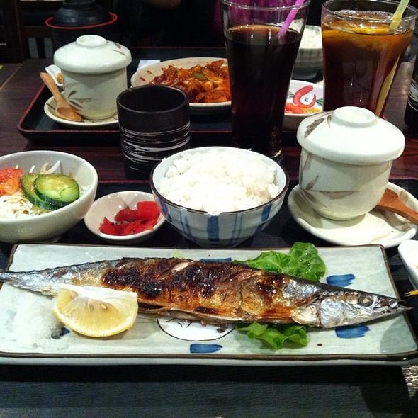 Grilled Fish Lunch Set @ Tairyo's Teppanyaki/ 大渔铁板烧