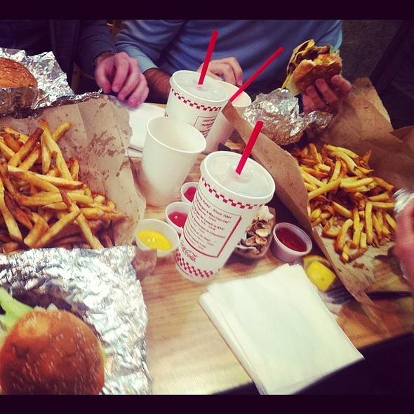 Burgers @ Five Guys Burgers & Fries