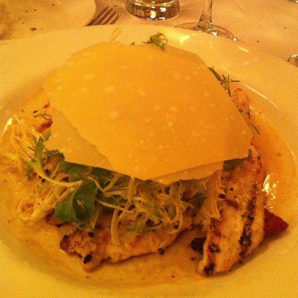Grilled Chicken Paillard Salad @ Balthazar Restaurant