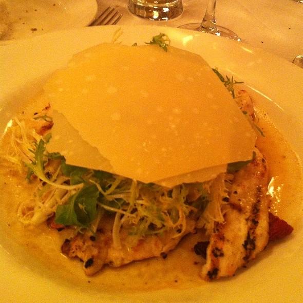 Grilled Chicken Paillard Salad @ Balthazar Restaurant