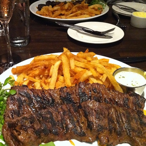 Skirt Steak @ Poste Moderne Brasserie