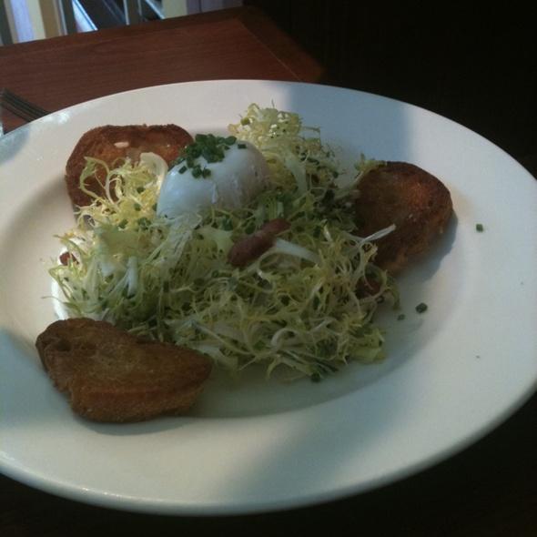 Lyonnaise Salad - Praline Bakery & Bistro, Bethesda, MD