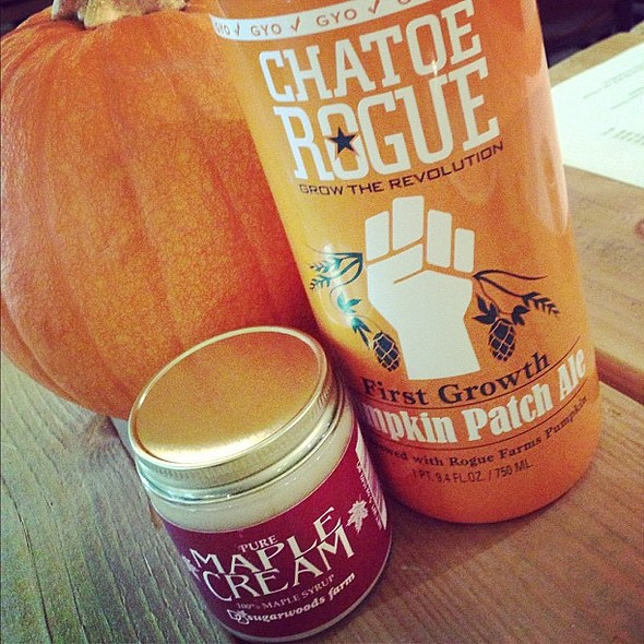 """Final Tasting: Chatoe Rogue - Pumpkin Patch and """"crack"""" aka Maple Cream. @ The Epicurean Connection"""