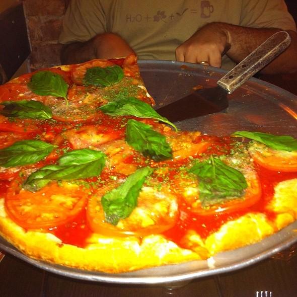Tomato And Basil Pizza - Patzeria Family & Friends, New York, NY