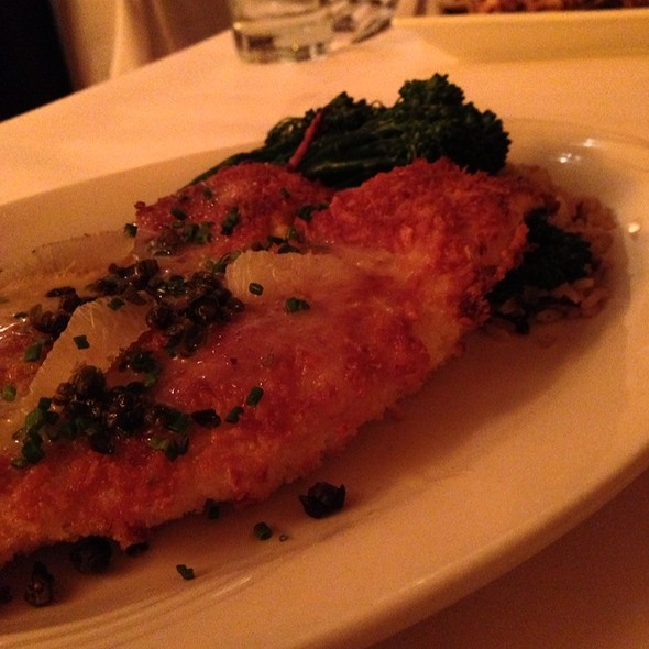 Tilapia - Tano Bistro & Catering, Loveland, OH