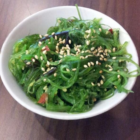 Seaweed salad @ Kazuki