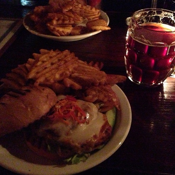 Jerk Chicken Sandwich - Randolph Beer, New York, NY