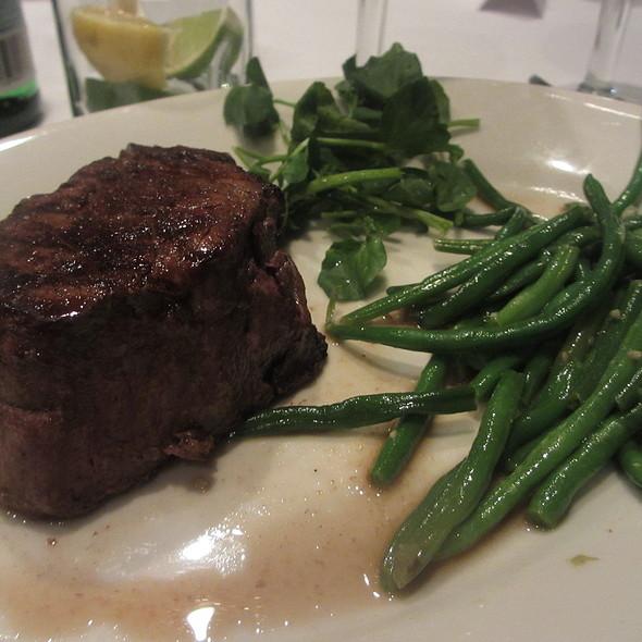 Filet Mignon Beef Steak with Green Beans - Morton's The Steakhouse - Schaumburg, Schaumburg, IL