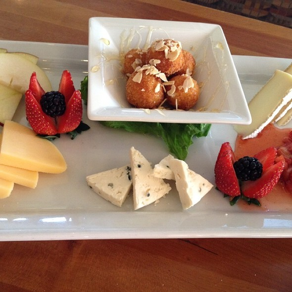 Tropical Fruit And Cheese Platter - Woodlands American Grill, Dallas, TX