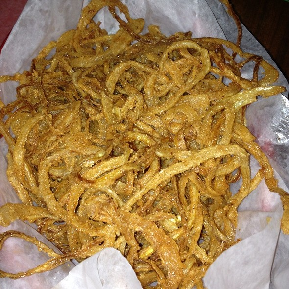 Onion Strings @ Pork Slope