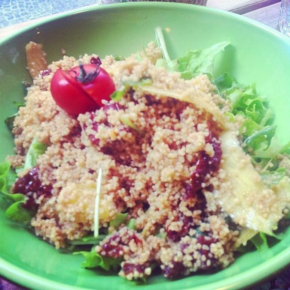 Cus Cus Salad @ Slunce Luna