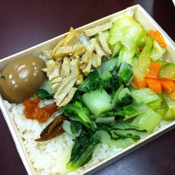 Deep Fried Chicken Lunch Box @ 池上木片便當 杭州南店
